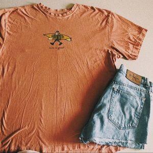 Life Is Good Orange Kayak T-shirt